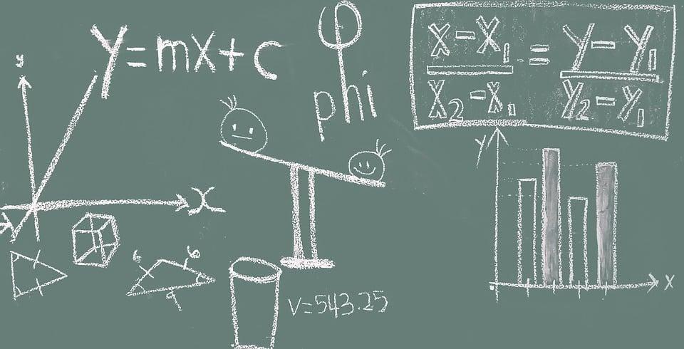 חישוב של סולם נורווד המילטון על לוח גיר