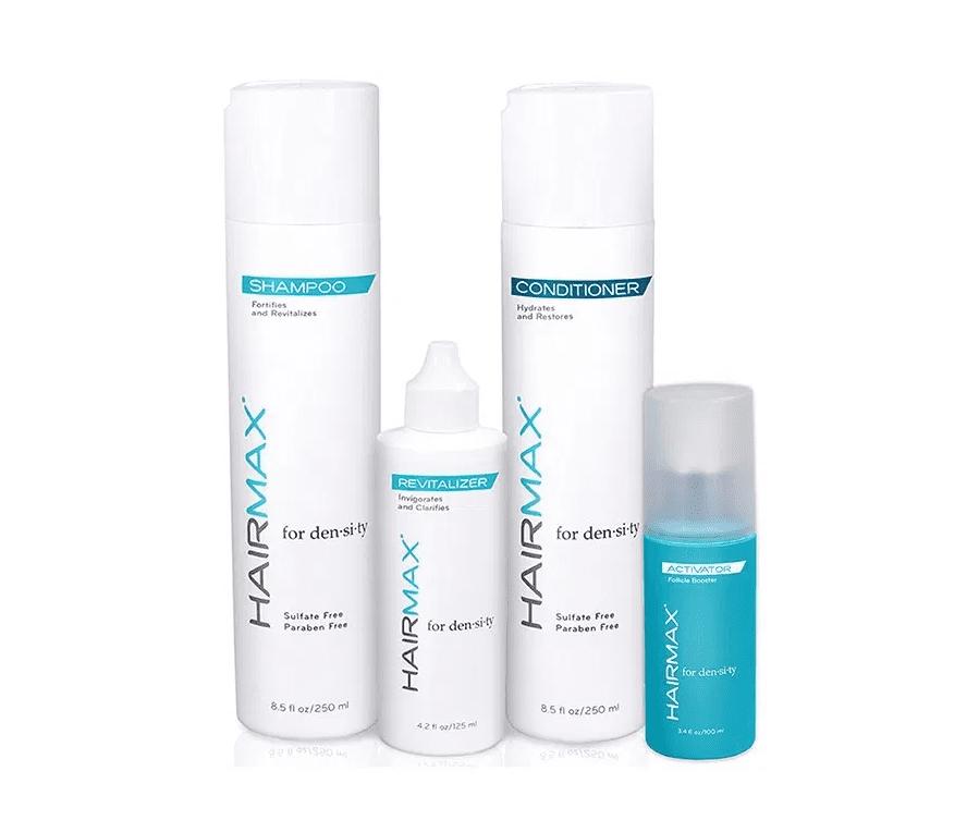 שמפו מרכך סרום ותכשיר להחייאת השיער של חברת היירמקס