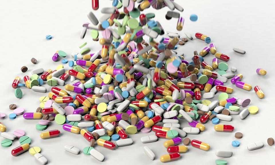 כדורים של תרופות נגד דיכאון