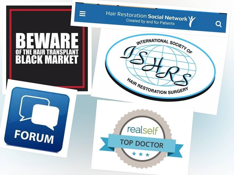 לוגואים של ארגונים גדולים בעולם של השתלת שיער