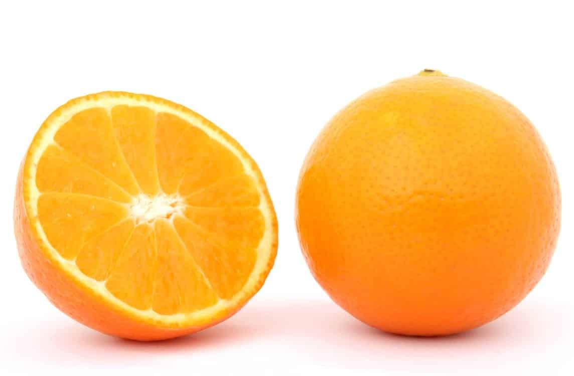 תפוז עם הרבה ויטמין B9 חומצה פולית